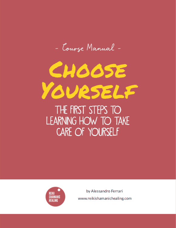 choose yourself course manual cover reiki shamanic healing berlin